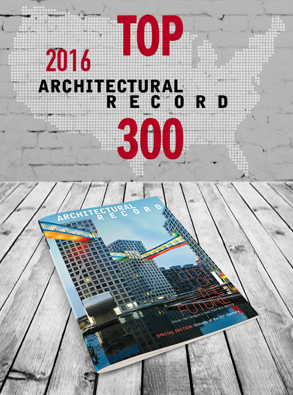 Top 300 Architecture Firms