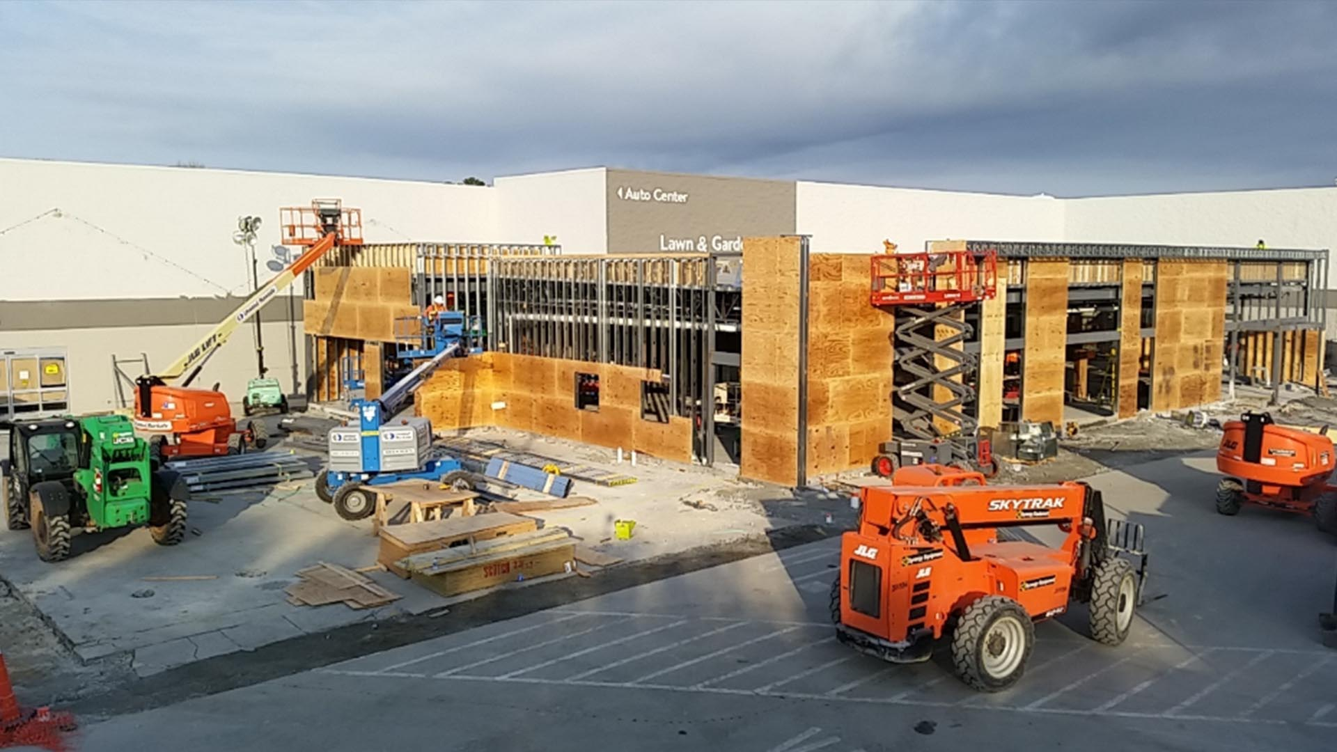 Walmart Construction